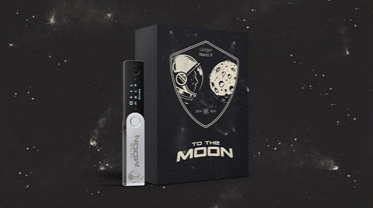 کیف پول لجر نانو ایکس To the moon